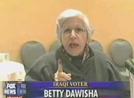 Iraqi Voter Betty Dawisha