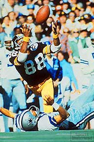Lynn Swann Steelers Catch