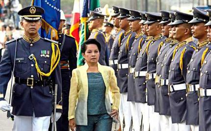 Gloria Arroyo Declares Martial Law