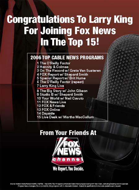 Fox Print Ad