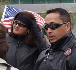 Monica Ramos, Wife of Border Patrol Agent Ignacio Ramos