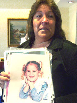 Melanie Kortlang Shows Pictures Of Amy Kortlang As A Child