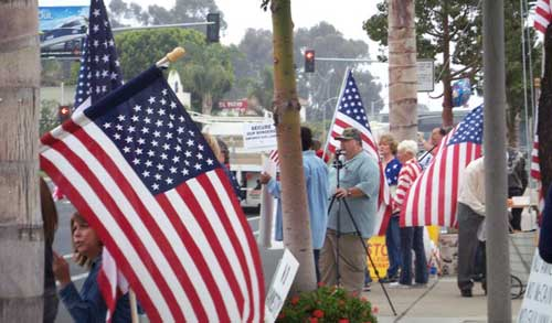 Save Our State Capistrano Beach Rally