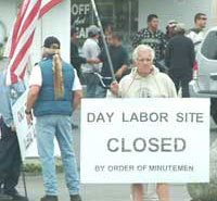 Day Labor Site Closed by Minutemen