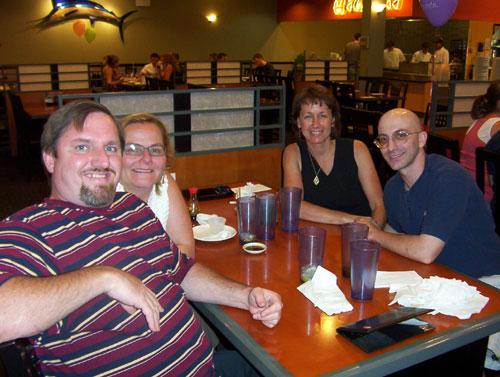 Maggie, John, Ruth and Digger