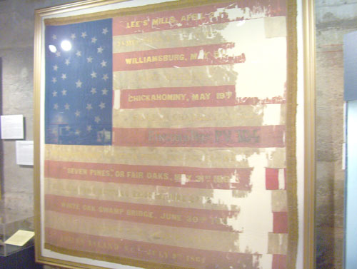 Mercer Museum Civil War Flag
