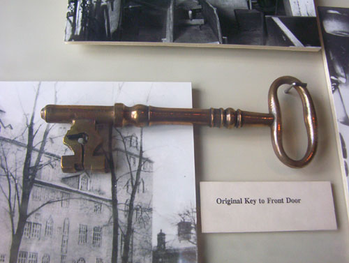 Mercer Museum Fonthill Door Key