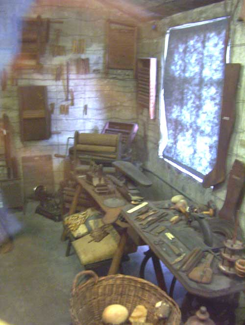Mercer Museum Tailor Tools