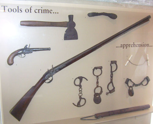 Mercer Museum Tools of Crime