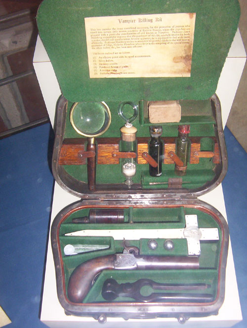 Mercer Museum Vampire Killing Kit