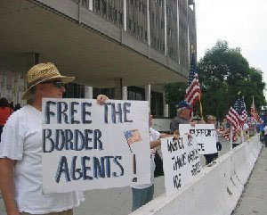 Rally For Border Agents