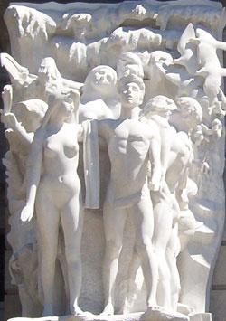 Harrisburg Capitol Statues