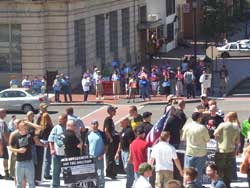 Harrisburg Immigration Counter Protest