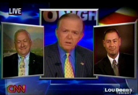 Lou Dobbs With Russell Pearce And Steve Gallardo