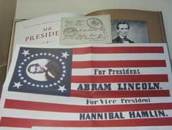 Abraham Lincoln Election Poster