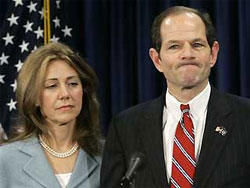 Eliot Spitzer and wife