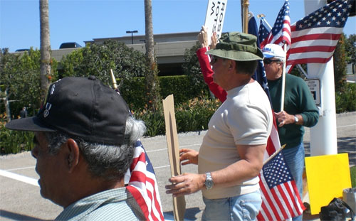 John McCain Protested In Newport Beach Over Illegal Immigration
