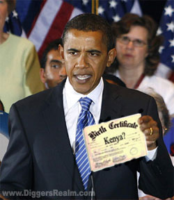 Barack Obama Birth Certificate