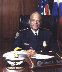 Houston Police Chief Harold Hurtt