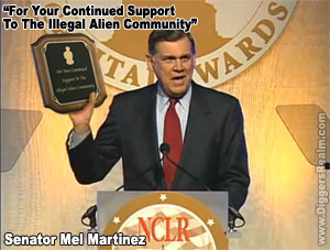 Mel Martinez Receives Illegal Alien Award