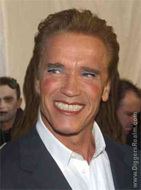 Governor Arnold Schwarzenegger Girly Man
