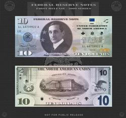Amero 10 dollar