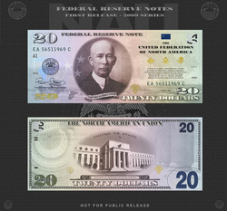 Amero 20 dollar