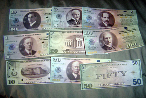 New amero Paper Currency