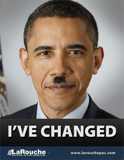 Obama Hitler Poster From LaRouche