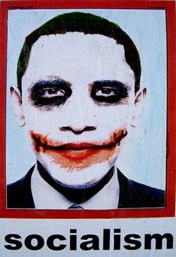 Obama Joker Socialism Poster