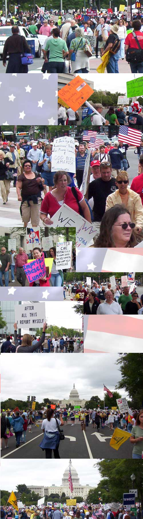 DC Tea Party March