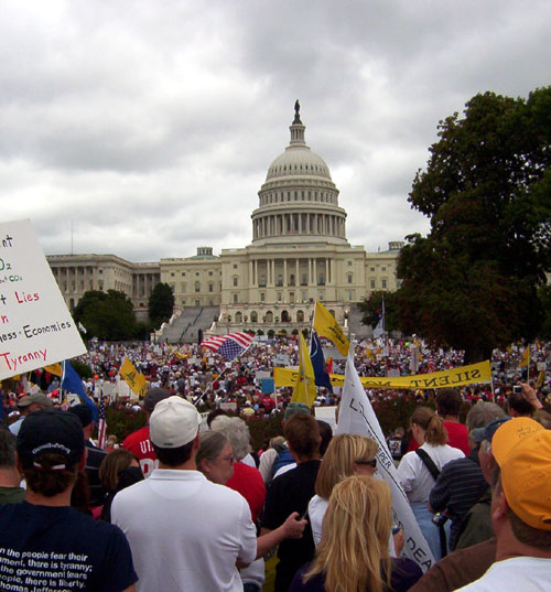 DC Tea Party Rally