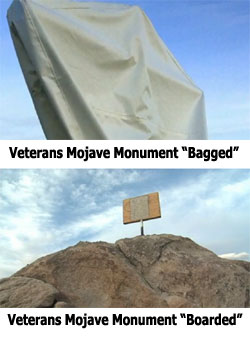 Veterans Mojave Desert Memorial Bagged & Boarded