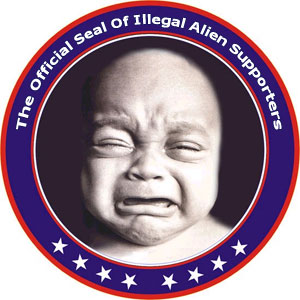 Official Seal Of Illegal Alien Supporters