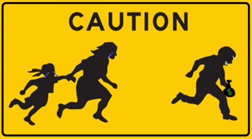 Illegal Alien Child Support Sign