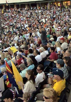 Stand With Arizona Crowd
