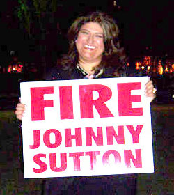 Monica Ramos Says Fire Johnny Sutton At The White House