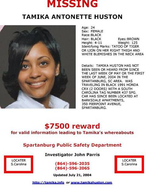 ... MISSING woman. If you have any information regarding her please
